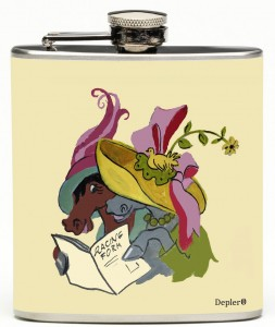 Ladies Day Flask