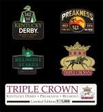 Triple Crown Lapel Pin Set 2016