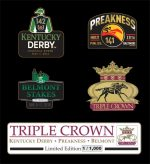 Triple Crown Lapel Pin Set 2016