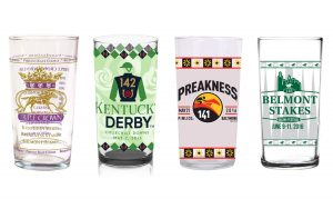 Triple Crown 2016 Glass Set of 4