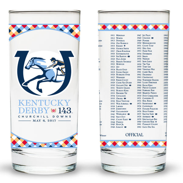 Ky Derby 143 Glass 2017