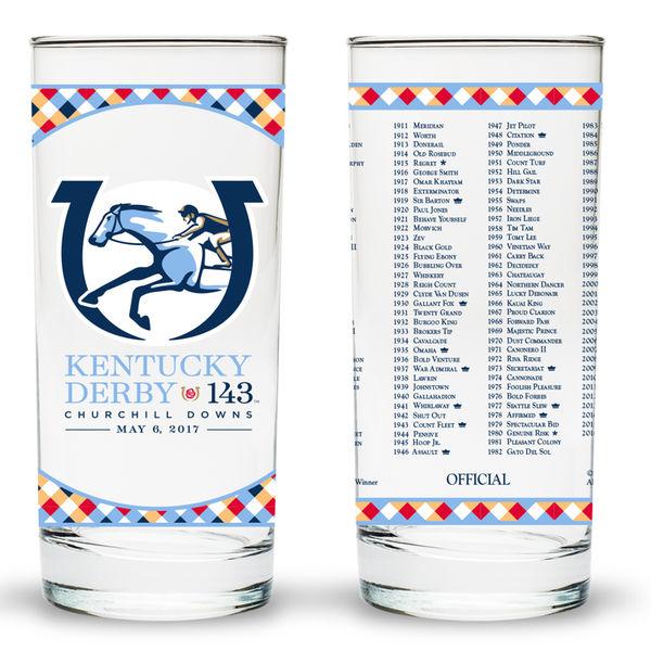 Ky Derby 143 Glass 2017