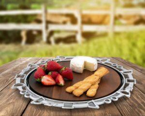 Bits Wood Cheese Tray