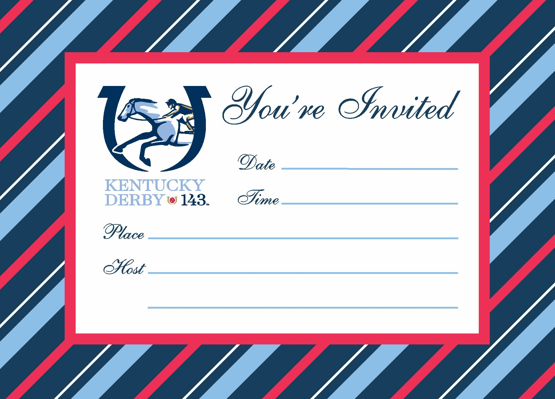 143 Kentucky Derby Party Invitations Sorry Sold Out Please – Derby Party Invitations