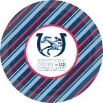 "9"" KY Derby paper plates"