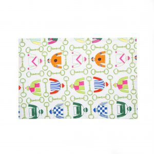 Linen Jockey Silks Placemats