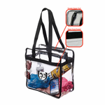 KD 143 Clear Stadium Tote Bag