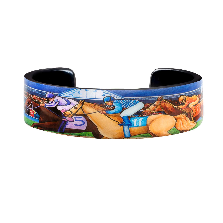 Derby Horse Racing Cuff Bracelet
