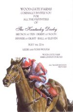 Fast Filly Note Cards