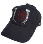 Ladies Derby Cap with Bling