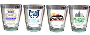 Triple Crown Collector's Shot Glass Set of 4 Glasses