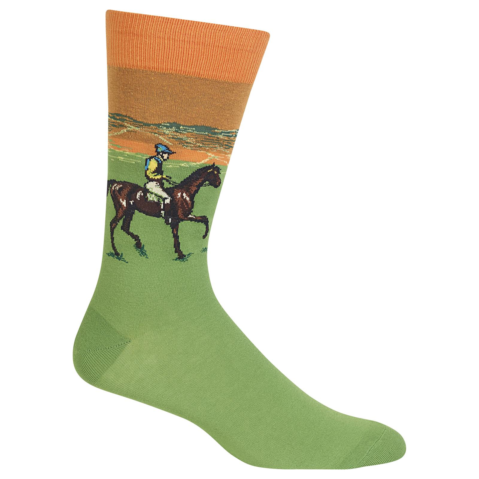 Race Horse Socks Men