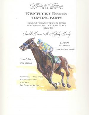Racing Notecard/Invitation