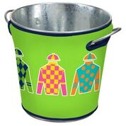 Jockey Silks Ice Bucket