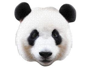 Friendly Panda Head
