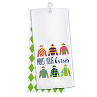 Jockey Silks Tea Towel