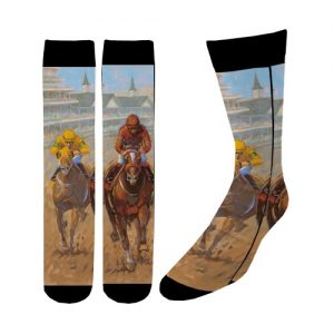 Sock racing art of the derby