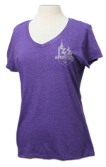 Purple Rhinestone T