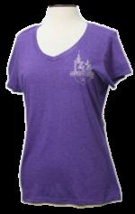 Purple Rhinestone T
