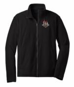 Black Full Zip Microfleece Jacket