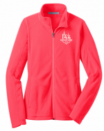 Hot Coral Fleece Jacket