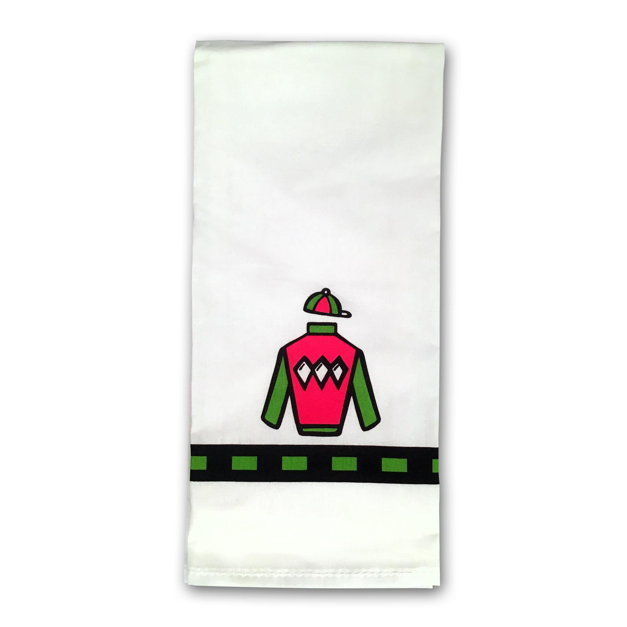 Hand Towel Silks with Diamonds