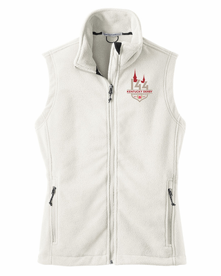 White Fleece Vest