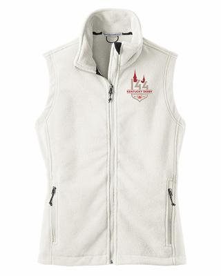 White Fleece Vest