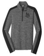 grey black pullover