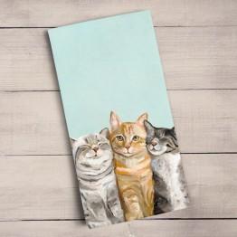 Three Cats Plus One