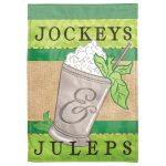 Garden Flag - Jockeys and juleps