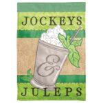 Garden Flag - Jockeys and juleps